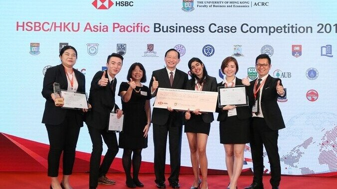 HSBC/HKU Asia Pacific Business Case Competition 2019 (Champion)
