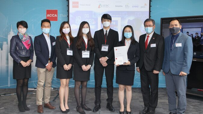 ACCA Hong Kong Business Competition 2020-21 (2nd Runner-up & Research Excellence Award)